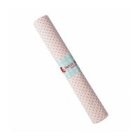 Coupon Petits pois coloris rose fluo 75 x 50 cm