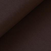 DERNIER COUPON popeline marron 1m40 x 140 cm