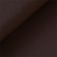 Popeline coloris brun 20 x 140 cm