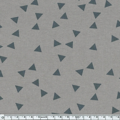 6967-163 jersey triangles fond gris