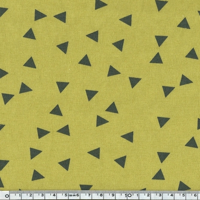 6967-17 jersey triangles fond olive