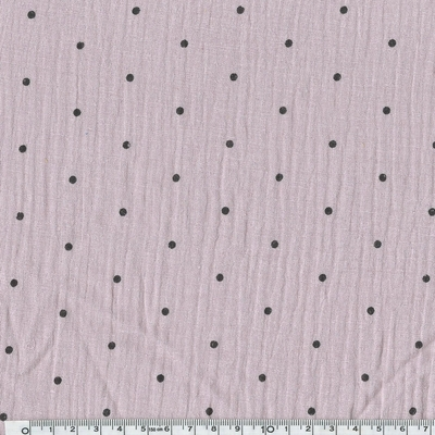 double gaze pois lilas