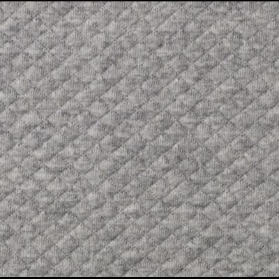 jersey mini matelassé gris chiné