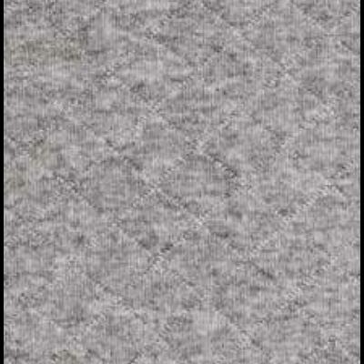 matelassé gris chiné