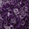 30 pressions KAM résine rondes taille 20 coloris violet