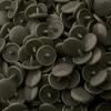 30 pressions KAM résine rondes taille 20 coloris gris foncé