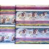 Tissu Gorjuss Rainbow frise cheval 20 x 110 cm