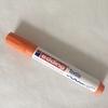 Feutre pour textile pointe 2/3 mm coloris orange