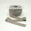 Biais Première Etoile imprimé caviar 1m