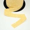 Biais Première Etoile imprimé crème pâtissière 1m