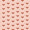 Jersey Sleepy Fox pink 20 x 160 cm