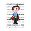 Coupon Je suis un garçon par Virginie Berne Illustrations env. 17 x 24 cm (sergé)