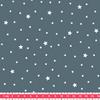 Tissu Première Etoile coloris Bleu Canard 20 x 140 cm