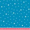 Tissu Première Etoile coloris Blue Lagoon 20 x 140 cm