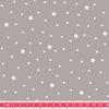 Tissu Première Etoile coloris Poivre Blanc 20 x 140 cm