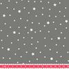 Tissu Première Etoile coloris Caviar 20 x 140 cm