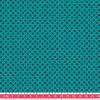Tissu Première Etoile mini star encre noire coloris Emeraude 20 x 140 cm