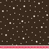 Tissu Première Etoile coloris Chocolat 20 x 140 cm
