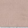 Bord-côte rose poudré chiné assorti au molleton 20 x 64 cm