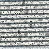 Tatouée pour la journée, sweat marinière marine foncé, 20 x 140 cm