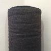 Lainage Mérinos noir/marron 20 x 150 cm