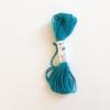 Echeveau de 5m de soie d'Alger turquoise coloris 135