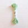 Echeveau de 5m de soie d'Alger vert pâle coloris 1831