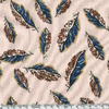 Liberty Jersey Woven Leaves 20 x 140 cm