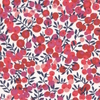 Liberty Wiltshire rouge fond blanc S 20x137 cm