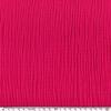 Tissu double gaze de coton unie coloris pitaya 20 x 135 cm