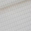 Batiste de coton Grill or/rose doux 20 x 140 cm