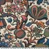 DERNIER COUPON Liberty Wolff coloris C popeline Piccadilly 1m55 x 137 cm