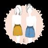 Patron Jupe/jupe culotte Formentera