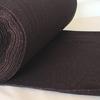 Bord côte noir lurex cuivre 20 x 68 cm