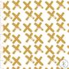 Jersey Croix coloris moutarde 20 x 160 cm