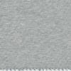 Jersey gris chiné étoiles phosphorescentes 20 x 140 cm