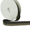 Biais élastique 20mm lurex or noir x10cm