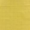 Double gaze lisse FDS carreaux or fond banane 20 x 140 cm