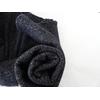 Molleton à paillettes coloris noir 20 x 140 cm