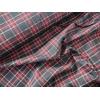 Tissu Tartan marine et rouge 20 x 140 cm
