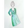 Patron blouse/robe Sybil