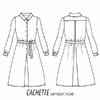 Patron robe/chemise Cachette