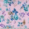 Viscose Liberty Yorkshire Rose coloris B 20 x 133 cm