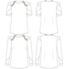 11th-FEBRUARY-ORIGAMI-BLOUSE-SKETCH-short-long-sleeves