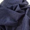 Tissu plumetis coloris marine 20 x 140 cm
