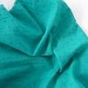 Tissu plumetis coloris émeraude 20 x 140 cm
