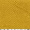 Jersey matelassé moutarde 20 x 140 cm
