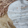 Crêpe de viscose Dune Off white 20 x 140 cm