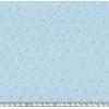 Tissu plumetis coloris glaçon 20 x 140 cm