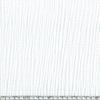 Triple gaze de coton coloris blanc 20 x 130 cm